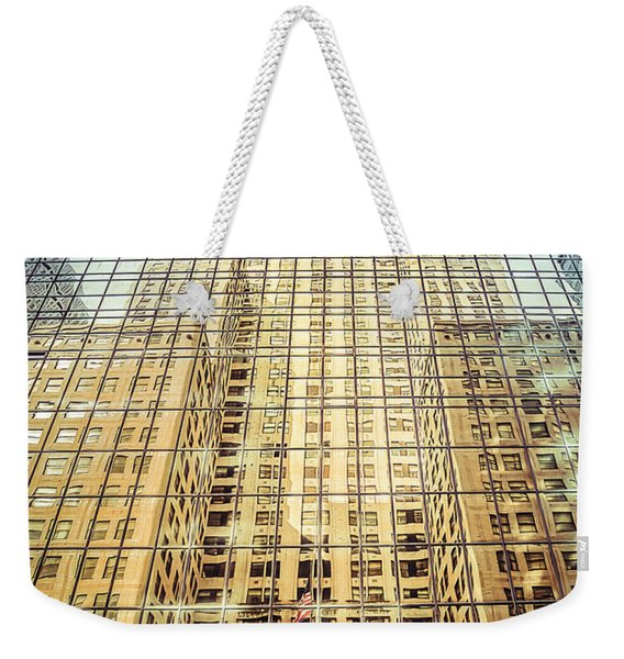 Reflective Empire Weekender Tote Bag