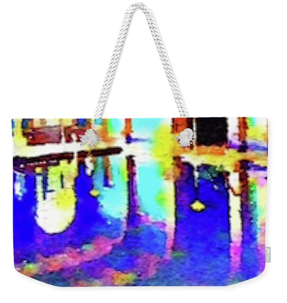 Reflective Pool Hearst Castle Weekender Tote Bag