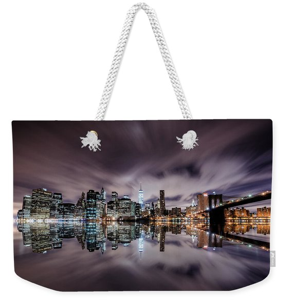 Reflector Adherence  Weekender Tote Bag