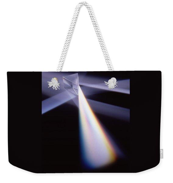 Refraction Weekender Tote Bag