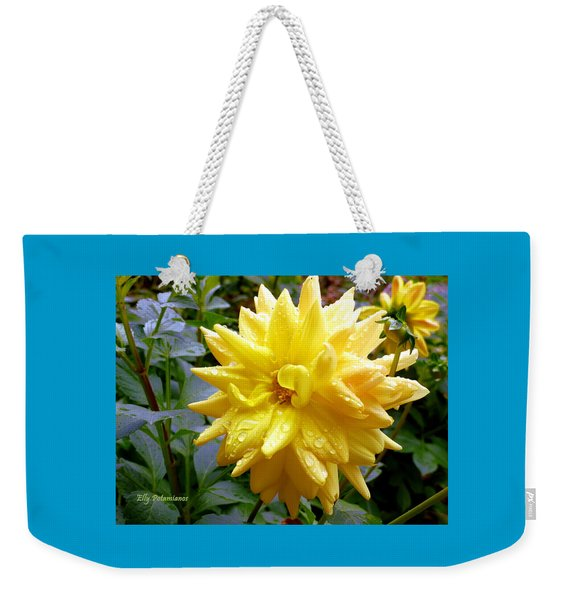 Refreshed Dahlia  Weekender Tote Bag