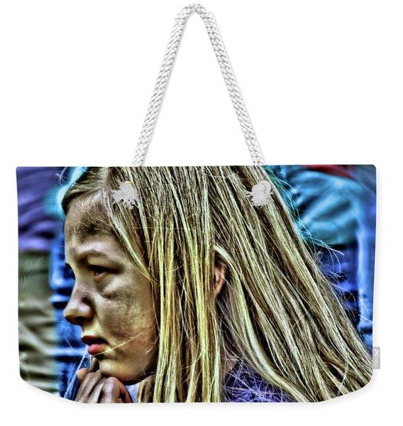 Refugee Weekender Tote Bag