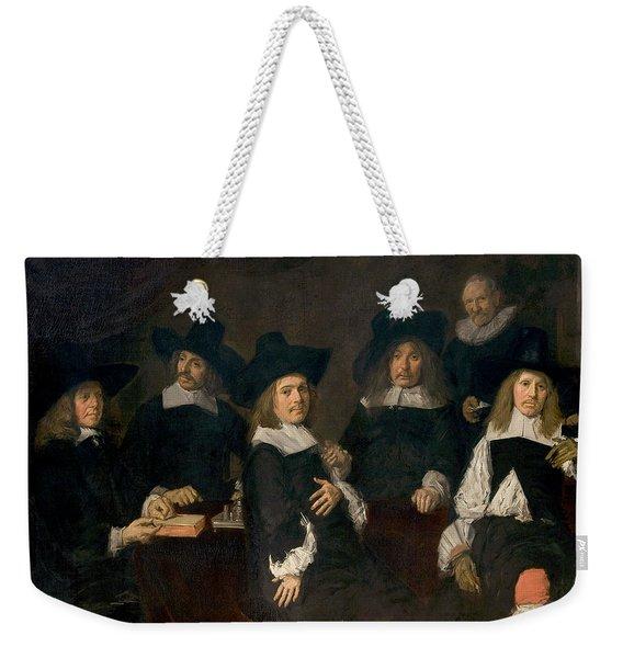 Regents Of The Old Men's Alms House Weekender Tote Bag