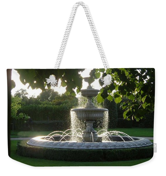 Regents Park Fountain Weekender Tote Bag