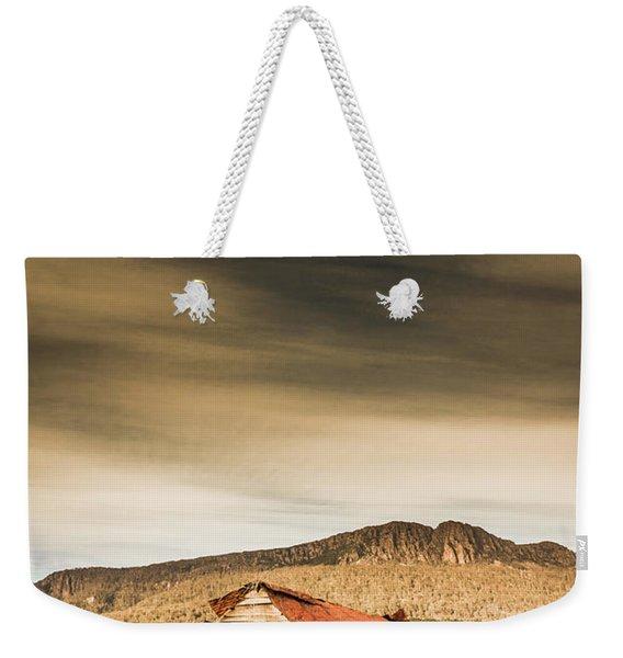 Regional Ranch Ruins Weekender Tote Bag