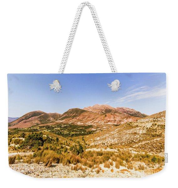 Regional Ruggedness Weekender Tote Bag