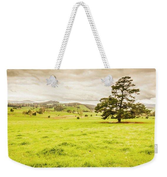 Regional Rural Land Weekender Tote Bag