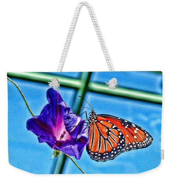 Reigning Monarch Weekender Tote Bag