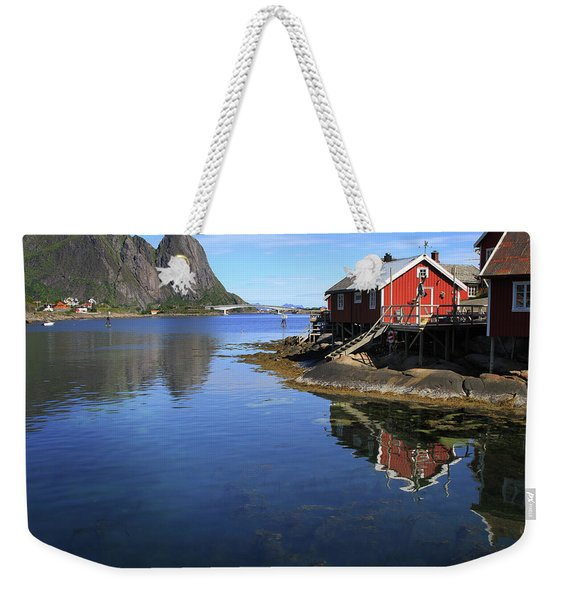 Reine, Norway Weekender Tote Bag