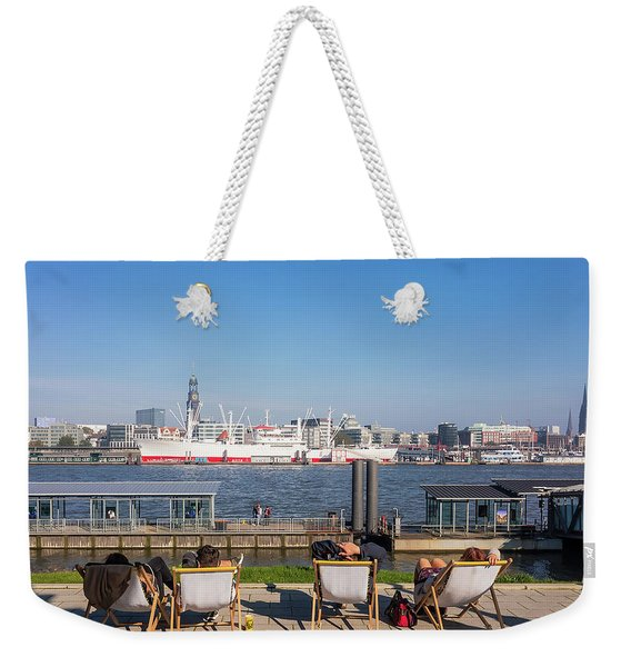 Relax On The Elbe Weekender Tote Bag