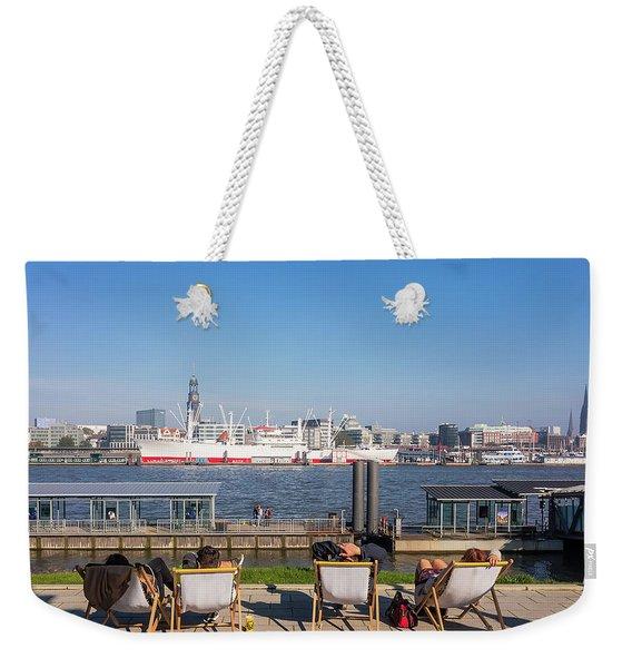 Relax On The Elbe Weekender Tote Bag