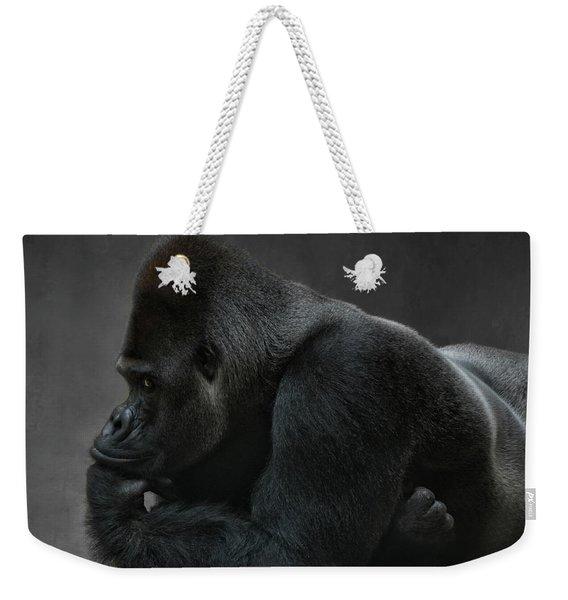 Relaxed Silverback Weekender Tote Bag