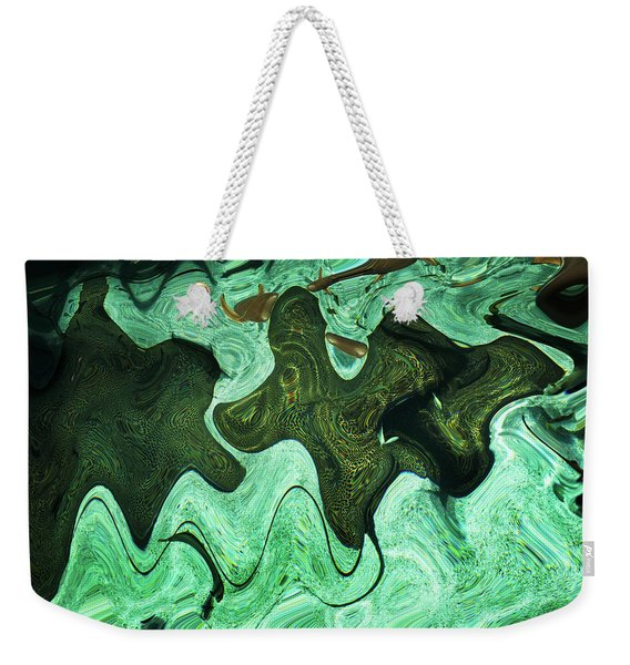 Relaxing Abstract Of Rays And Sharks Weekender Tote Bag
