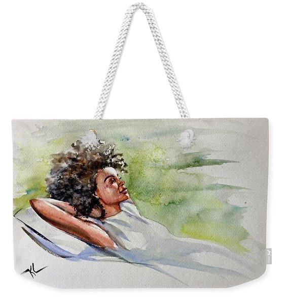 Relaxing Afternoon Weekender Tote Bag