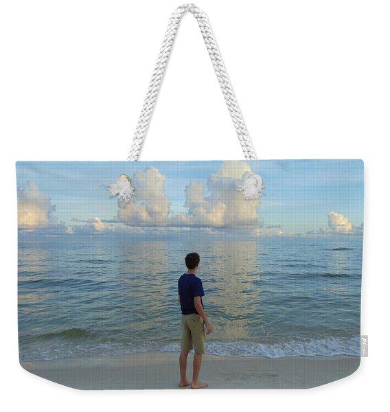 Relaxing By The Ocean Weekender Tote Bag