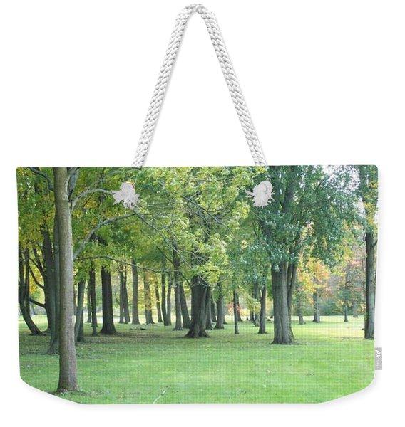 Relaxing Tranquility Weekender Tote Bag