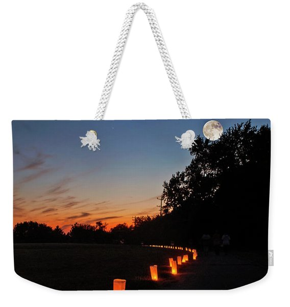 Relay  For Life Weekender Tote Bag