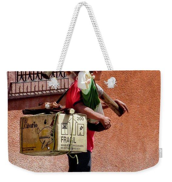 Religious Art Salesman Weekender Tote Bag