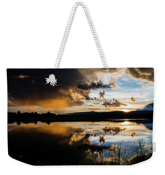 Weekender Tote Bag featuring the photograph Remains Untrusted by Jason Coward