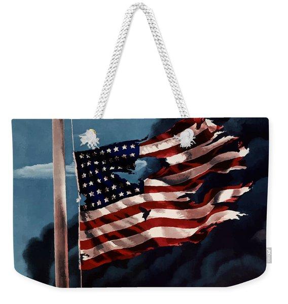 Remember December Seventh Weekender Tote Bag