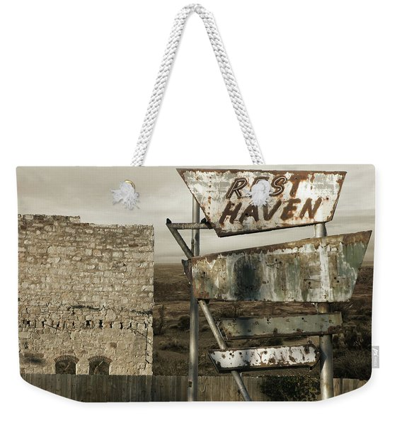 Remember The Mother Road Weekender Tote Bag