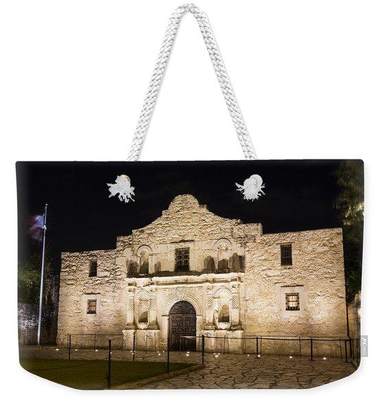 Remembering The Alamo Weekender Tote Bag