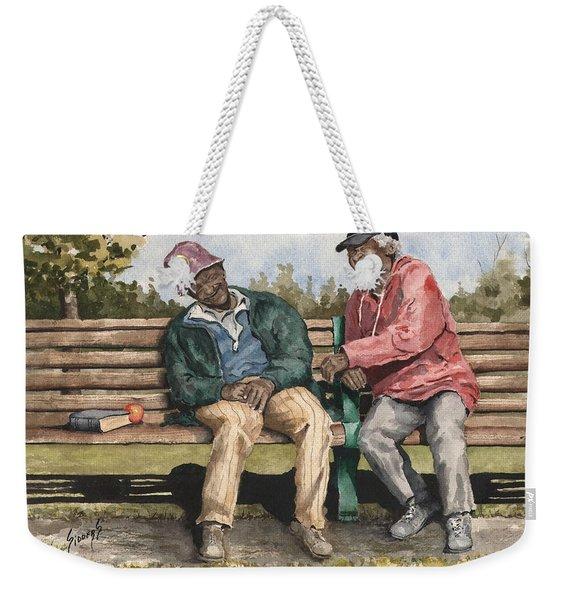 Remembering The Good Times Weekender Tote Bag