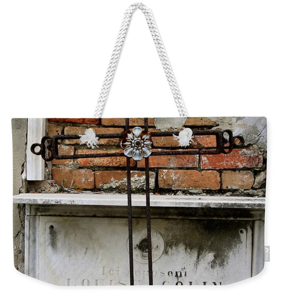 Remembering The Lost Weekender Tote Bag