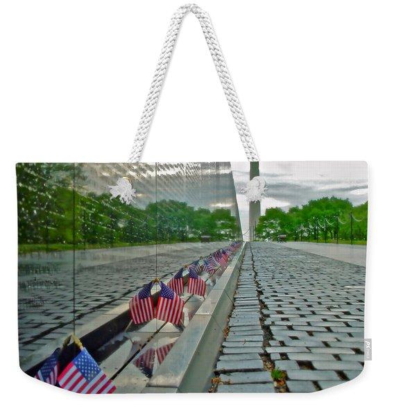Remembrance Of Patriotism Weekender Tote Bag
