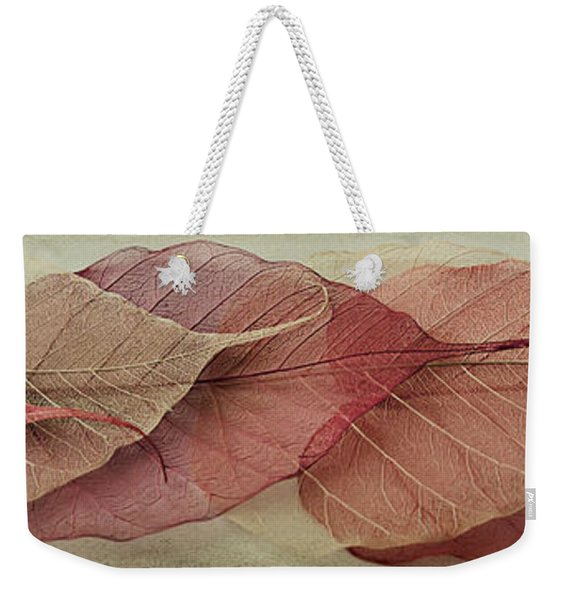 Remnants Of Summer Days Weekender Tote Bag