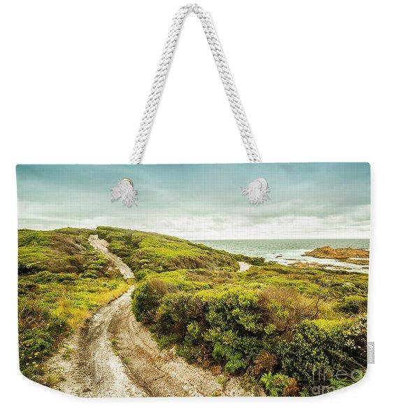 Remote Australia Beach Trail Weekender Tote Bag