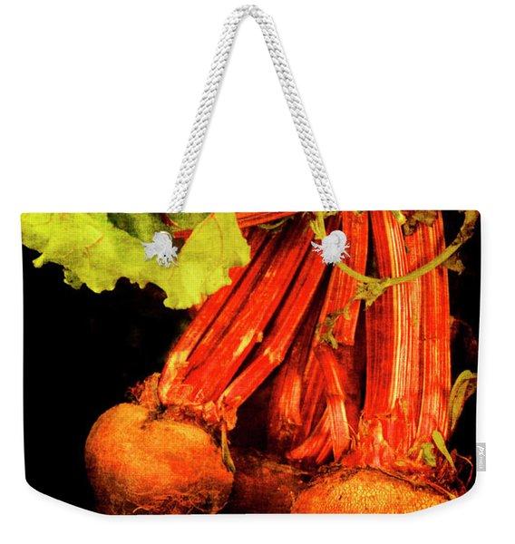 Renaissance Beetroot Weekender Tote Bag