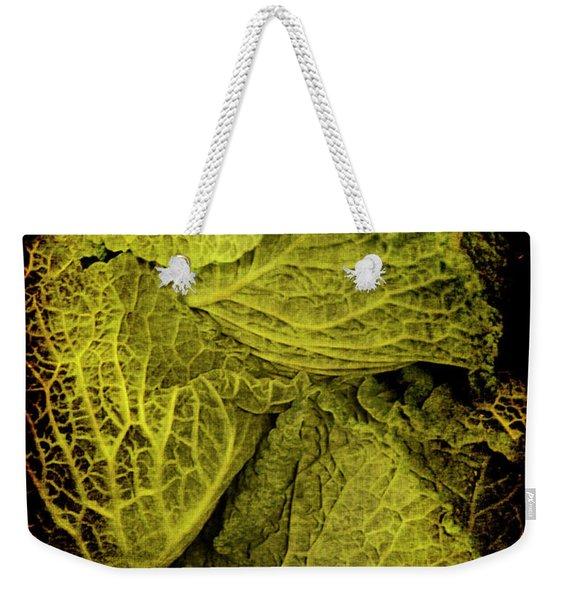 Renaissance Chinese Cabbage Weekender Tote Bag