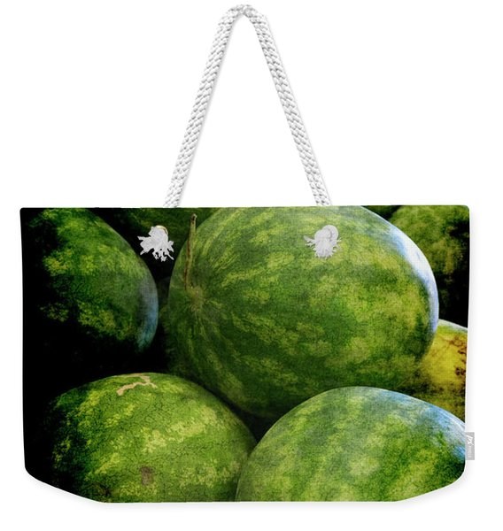 Renaissance Green Watermelon Weekender Tote Bag