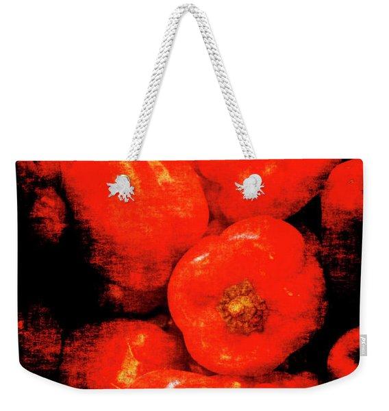 Renaissance Red Peppers Weekender Tote Bag