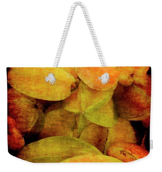 Renaissance Star Fruit Weekender Tote Bag