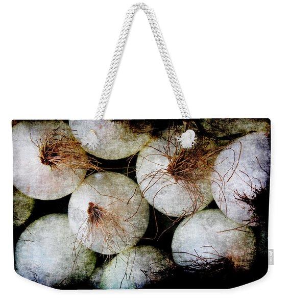 Renaissance White Onions Weekender Tote Bag