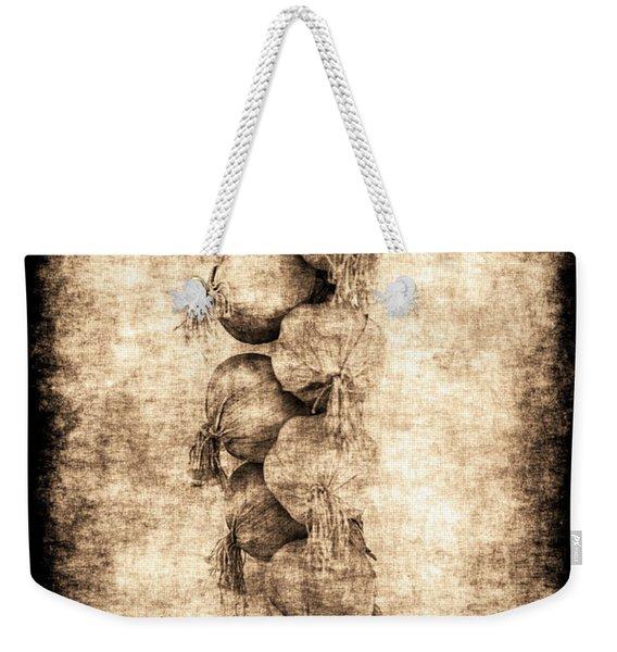 Renasiaance Garlic Weekender Tote Bag