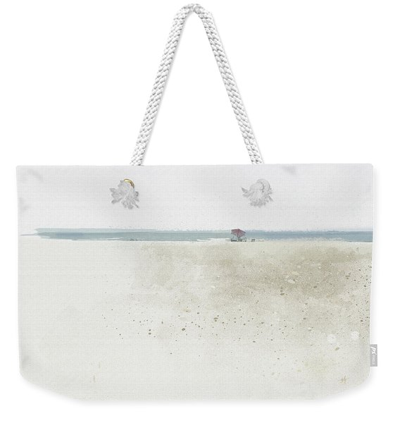 Weekender Tote Bag featuring the digital art Renourishment by Gina Harrison