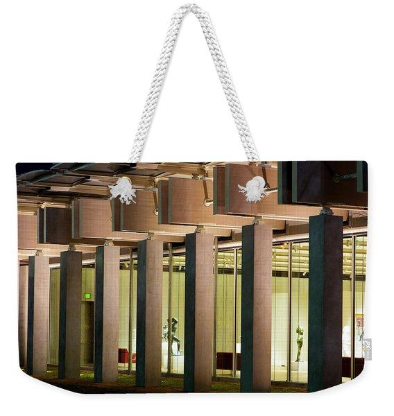 Renzo Piano Building Kimball Museum Weekender Tote Bag