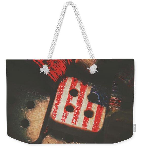 Repairing The American Dream Weekender Tote Bag