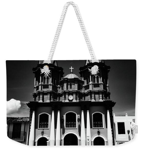 Replica Church In El Penol Weekender Tote Bag