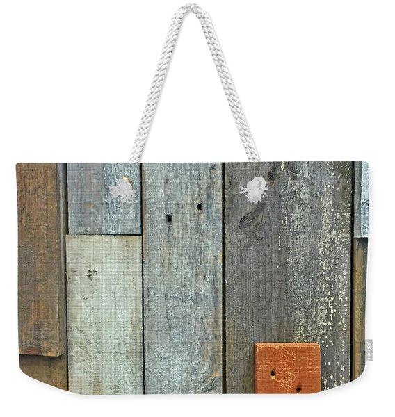 Repurposed Weekender Tote Bag