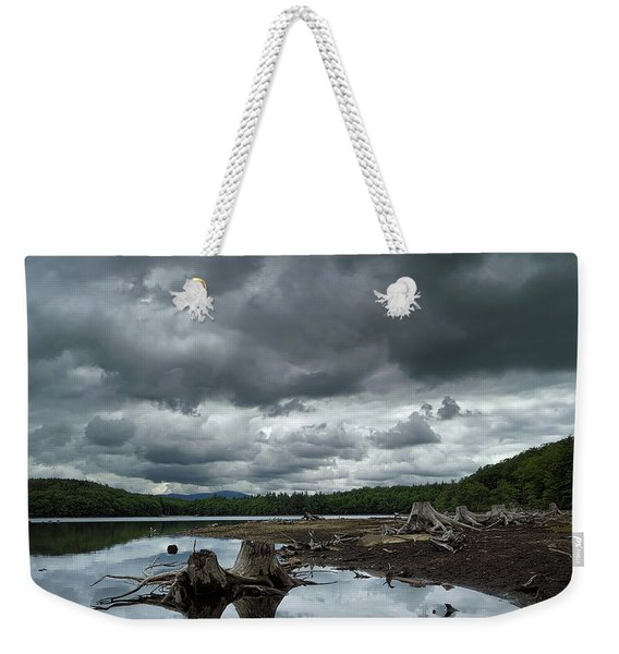 Reservoir Logs Weekender Tote Bag