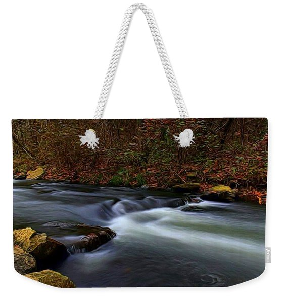 Resting By The Water Weekender Tote Bag