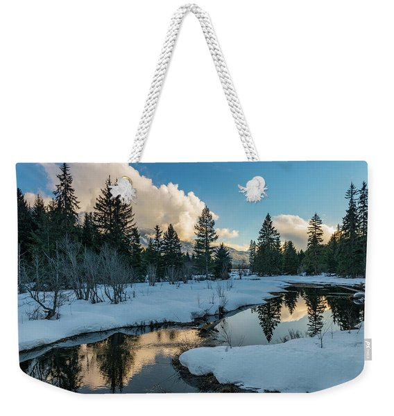 Resting Creek Weekender Tote Bag
