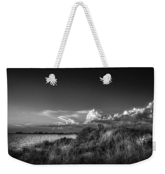 Restless Sky - Bw Weekender Tote Bag