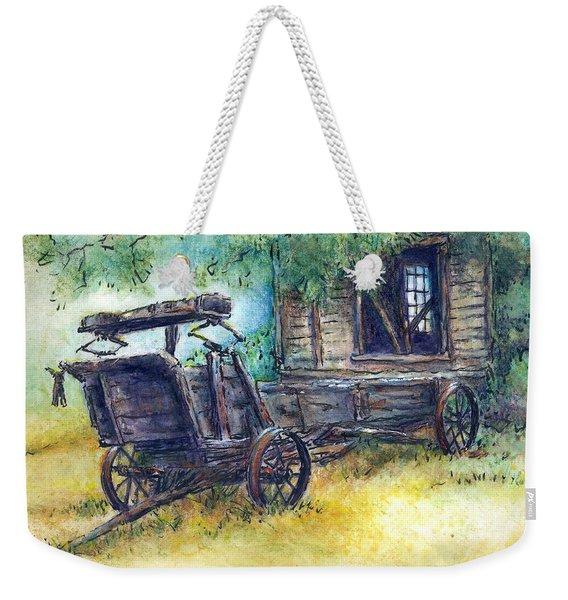 Retired At Last Weekender Tote Bag