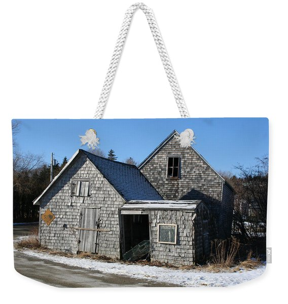 Retired Weekender Tote Bag