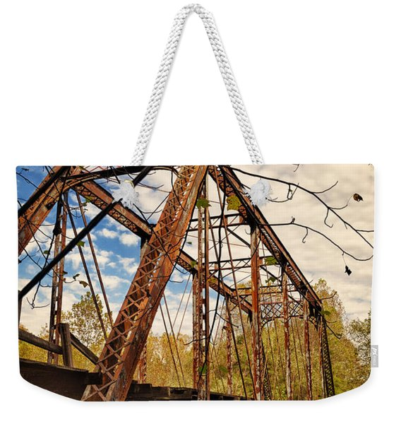 Retired Trestle Weekender Tote Bag